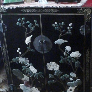 CHINESE CABINET JINLONG LACQUER FURNITURE, BEIJING FURNITURE COMPANY