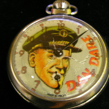 Unofficial Dan Dare Pocket Watch by Smiths - Pocket Watches