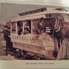 FUNNY VINTAGE POST CARD, HORSE PULLED TROLLY, HORSE BOARDED!