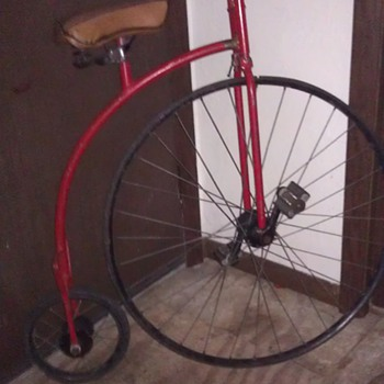 high wheel bicycle need help with identifying!!! - Sporting Goods