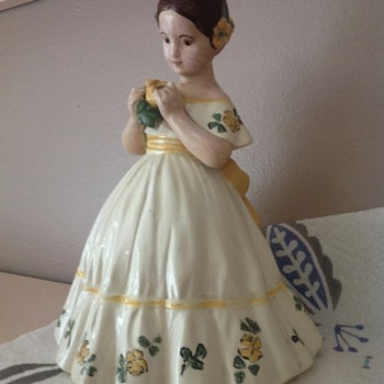 Great Grandmother's Doll Figurine - looking for info please - Figurines