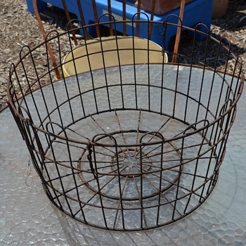 Big, Rusty Basket