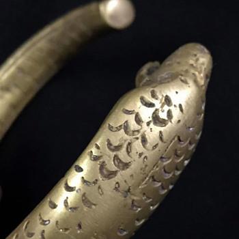 Snake Bracelet - Brass ?