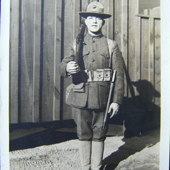PVT HENRY J. BROWN, 2ND INF, 6TH USMC REGT, KIA WWI
