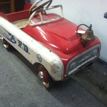 50's Pedal Car...probably a Murray...