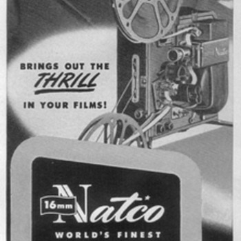 1948 - NATCO Movie Projector Advertisement - Advertising