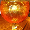 Beautiful Orange/Tangerine Goblets