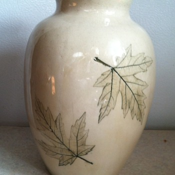 Nemadji Pottery Vase - Art Pottery