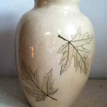 Nemadji Pottery Vase - Art Pottery