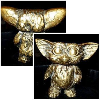 solid brass gizmo the gremlin