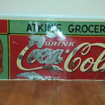 1936 Coca Cola Sign