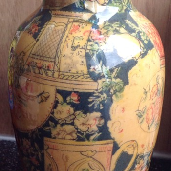 'Wallpaper' vase - Art Pottery