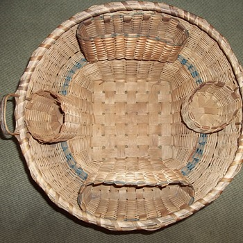 Native American Sewing Basket, 1870-1890