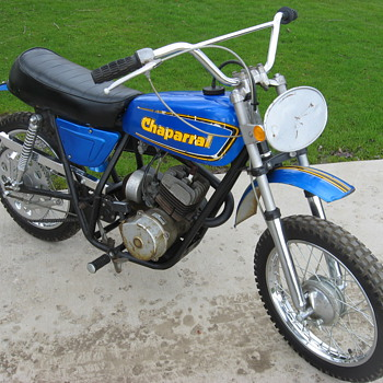 1973 Chaparral T-95 mini-bike - Motorcycles