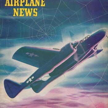 1944 - Model Airplane News magazine - October