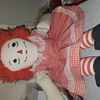 Raggedy Ann HELP!!  Don't know anyth abt this one & can't find abother one like it