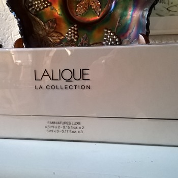 Lalique Paris La Collection Thrift Shop Find 10 Euro ($10.67)