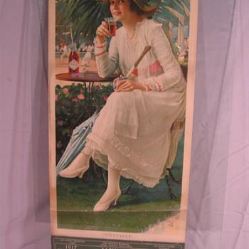 1917 Calanders - Coca-Cola