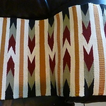 This is one of several rugs or blankets I have collected - Native American