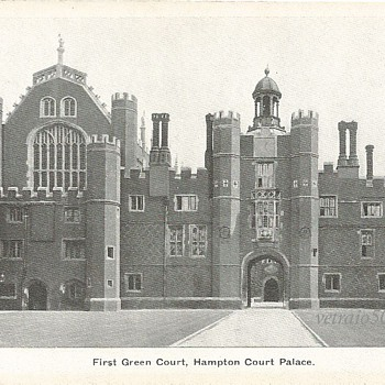 FIRST GREEN COURT HAMPTON COURT PALACE