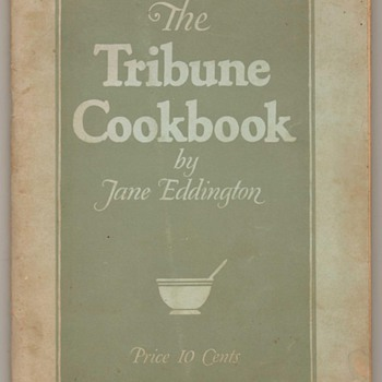 1925 - The Tribune Cookbook - Books