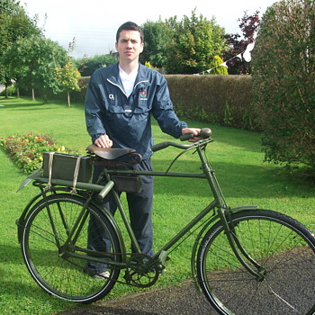 1922-23 irish army free state bicycle - Military and Wartime