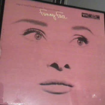 Audrey Hepburn Soundtrack of Funny Face Vinyl Record MINT!! - Movies