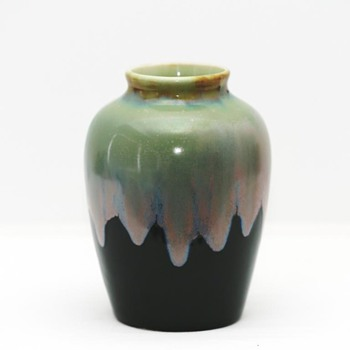 Drip Glaze Vase (Germany?), 1910-1920