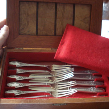 Sterling French dessert set