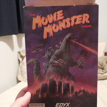 Godzilla, The Movie Monster Game Apple II - Toys