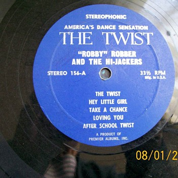 Robbie Robber & The Hi-Jackers ?– The Twist - Records