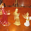 Murano Glass Angels.....garage sale find