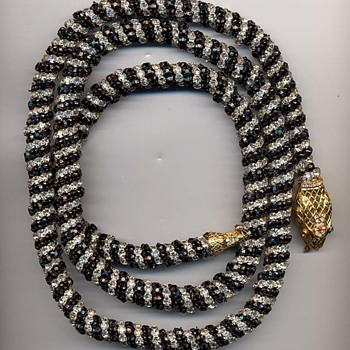 KJL Snake Necklace/Belt