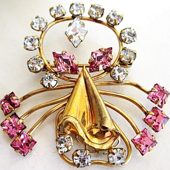 Curtis Jewelry Pin, Curtis Is Very Hard To Find  - Costume Jewelry