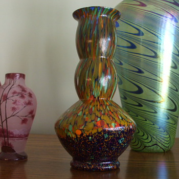 Second of Today's Bohemian Glass Finds- Not Sure of Maker! - Art Glass