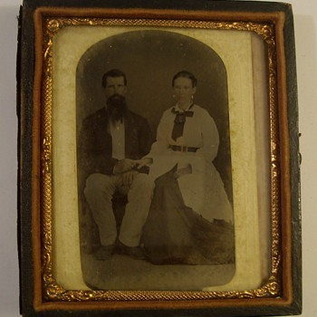 Great Grandparents old time photo - Photographs