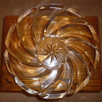 Glass Fruit Bowl 1960's?