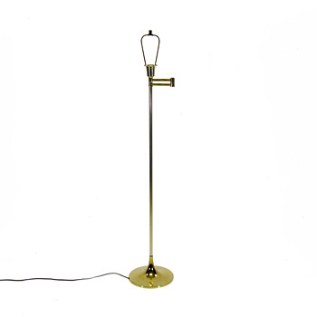 VTG Laurel Lamp Company Articulating Brass Floor Lamp