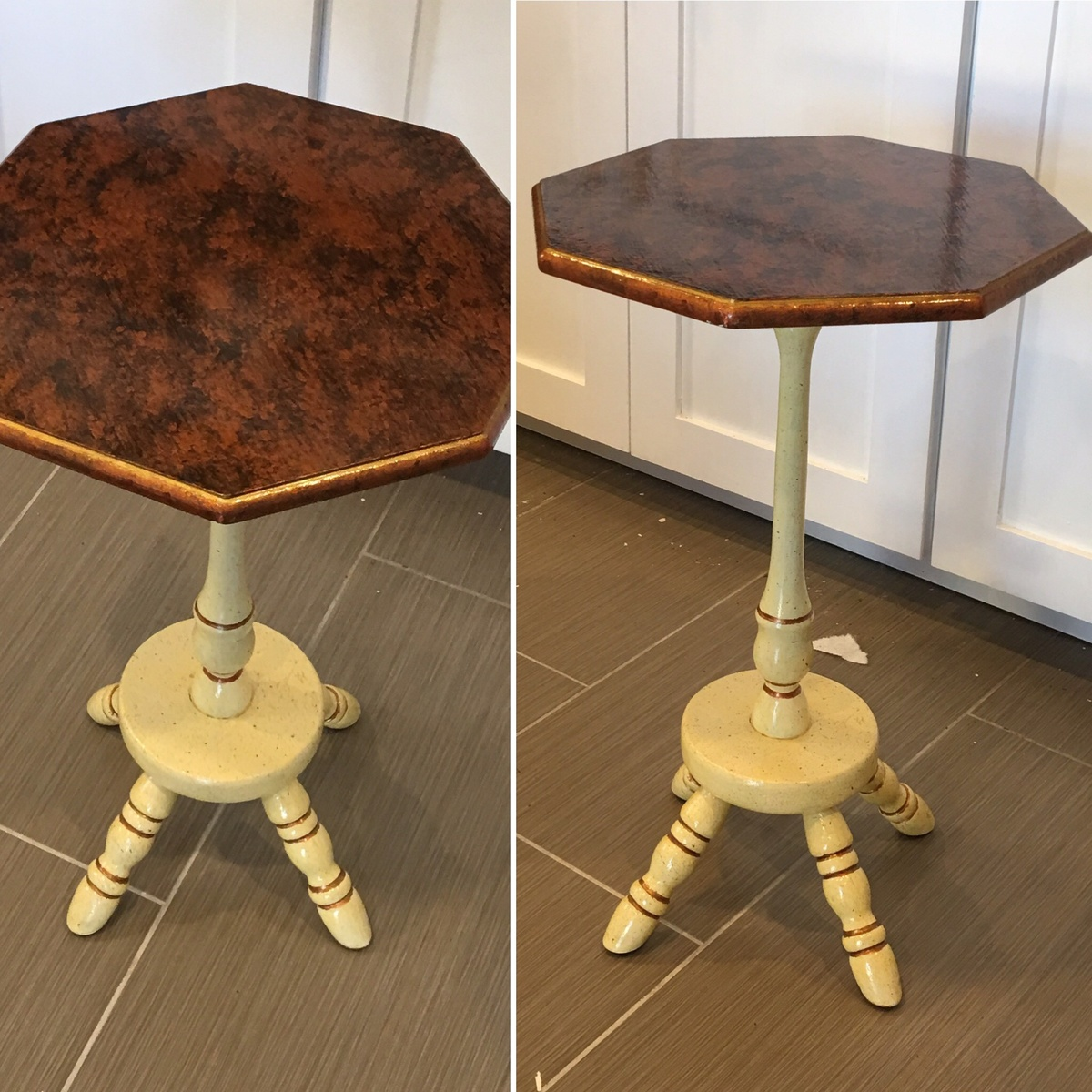 small candle stand table collectors weekly
