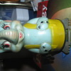 Vintage elephant wind up toy