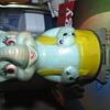 Vintage elephant wind up toy