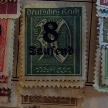 Questionable Germany Stamp - Stamps