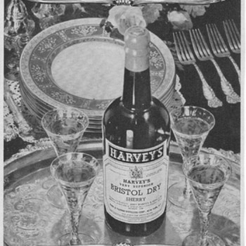 1953 Harvey's Sherry Advertisement - Advertising