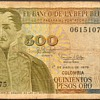Colombia - (500) Pesos Oros Bank Note