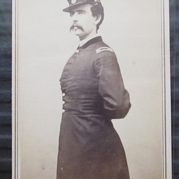 CDV Lt. William Shields, 4th Maine Regiment