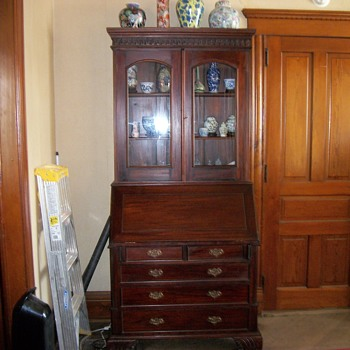 chippendale bureau/hutch/secretary/bookcase - Furniture