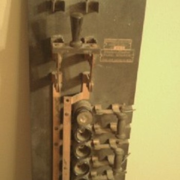 Western Electric Panel Board