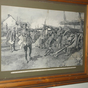 world war one prints - Military and Wartime