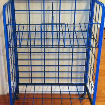 The Toronto Star newspaper metal rack. - Advertising