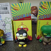 "KidRobot ""Morbo"", ""Nibbler"", and ""Lenny"" vinyl figures"